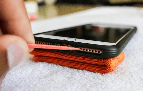 Чистые зубочистки для iPhone