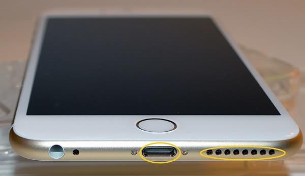 iPhone прозрачный динамик