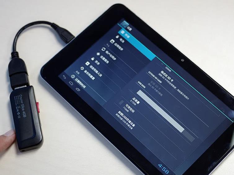 Подключение 3G-модема к планшету