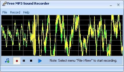 Бесплатный MP3 утилита звукозаписывающего устройства